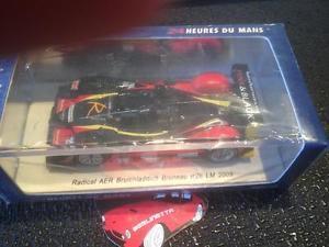 【送料無料】模型車 モデルカー スポーツカー スパークラジカルブリュノ#ルマンspark s1469 radical aer bruichladdich bruneau 26 le mans 2009 143