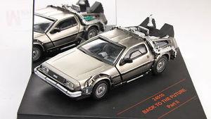 【送料無料】模型車 モデルカー スポーツカー vhicule dmc delorean 2 retour vers le futur ii en mtal au 143