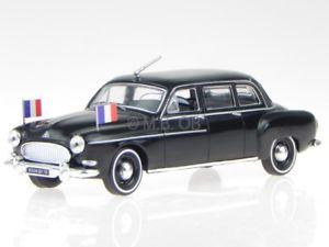 【送料無料】模型車 モデルカー スポーツカー ルノーセダンモデルカーゴールrenault fregate limousine de gaulle 1957 modellauto 519168 norev 143
