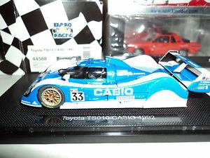 【送料無料】模型車 モデルカー スポーツカー トヨタ#ebbro 143 toyota ts 010 33 lm 1992