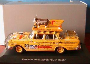 【送料無料】模型車 モデルカー スポーツカー メルセデスベンツブッシュネットワークイエローモデルmercedes benz 220sb w111 bush bash 1959 ixo 143 jaune yellow special model