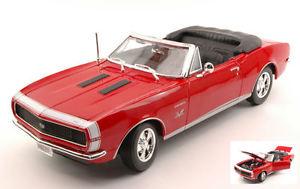 【送料無料】模型車 モデルカー スポーツカー シボレーカマロモデルchevrolet camaro ss 396 1967 red 118 model 31684r maisto