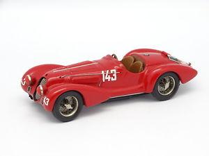 【送料無料】模型車 モデルカー スポーツカー スタイリングモデルキットモンアルファロメオツーリングミッレミリアstyling models kit mont 143 alfa romeo 8c 3000 touring mille miglia 1939