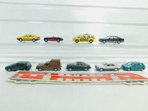 【送料無料】模型車 モデルカー スポーツカー #フォードゴルフアウディbo6200,5 9x wiking h0187 pkw ford adacvw golfaudi 80mb 500 sel etc, sg