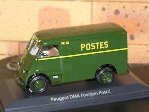 【送料無料】模型車 モデルカー スポーツカー プジョーpeugeot dma fourgon postal143 norev