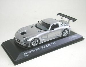 【送料無料】模型車 モデルカー スポーツカー メルセデスベンツグアテマラシルバーmercedesbenz sls amg gt3 street silver 2011