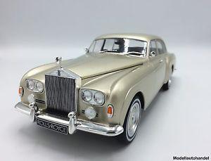 【送料無料】模型車 モデルカー スポーツカー ロールスロイスシルバークラウドフライングベージュスパーrolls royce silver cloud iii flying spur hjmulliner beige 118 mcg