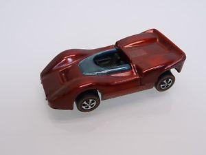 【送料無料】模型車 モデルカー スポーツカー マテルホットホイールマクラーレンスペクトルトップmattel hot wheels 6255 164 mclaren m6a hong kong spectraflame red 1968 top