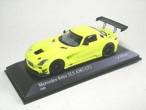 【送料無料】模型車 モデルカー スポーツカー メルセデスベンツmercedesbenz sls amg gt3 street yellow 2011