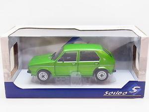 【送料無料】模型車 モデルカー スポーツカー ゴルフモデルカーlot 31916 solido vw golf l viper green grn diecast modellauto 118 neu ovp