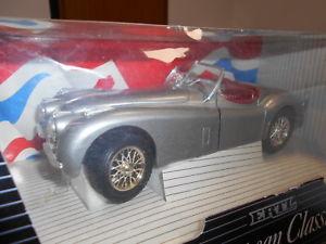 【送料無料】模型車 モデルカー スポーツカー ジャガーert7492 by ertl jaguar xke 120 1948 118