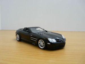 送料無料 模型車 モデルカー スポーツカー メルセデスレフカブリオレノワールmercedes 予約 slr 143 cabriolet mac laren 毎日続々入荷 noir