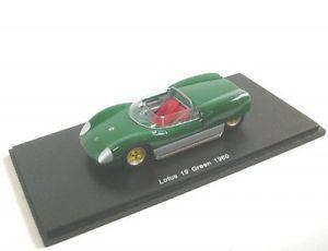 【送料無料】模型車 モデルカー スポーツカー ロータスグリーンlotus 19 grn 1960