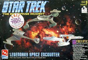 【送料無料】模型車 モデルカー スポーツカー キットスタートレックertl amt kit star trek legendary space encounter 8254