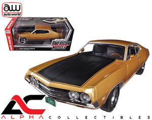 【送料無料】模型車 モデルカー スポーツカー アムフォードトリノコブラautoworld amm1039 118 1970 ford torino cobra 429 4v gold ltd to 1250