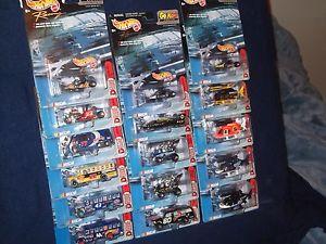 【送料無料】模型車 モデルカー スポーツカー ホットホイールナスカーロットリアルライダーhot wheels nascar lot no duplicates lot 7 real rider