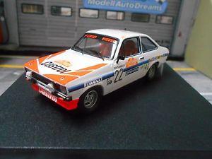 【送料無料】模型車 モデルカー スポーツカー フォードエスコートラリーサンレモ#ford escort mkii rs 2000 rallye san remo 22 presotto 1980 castrol trofeu 143