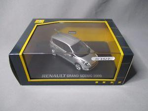 【送料無料】模型車 モデルカー スポーツカー ルノーグランドシーニックボードdv7927 schuco 143 renault grand scenic 2009 gris platine 7711426832 nb