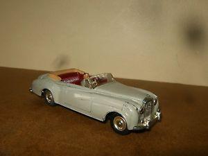 【送料無料 bentley】模型車 モデルカー vintage スポーツカー s2 ビンテージイングランドベントレーancienne vintage dinky toys england 143 n 194 bentley s2 60s, シママキグン:1251fe42 --- sunward.msk.ru