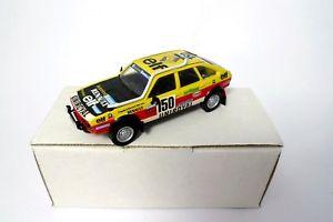 【送料無料】模型車 モデルカー スポーツカー キットミニレースパリダカールラリールノーkit 143 mini racing renault 20 marreau paris dakar 1982