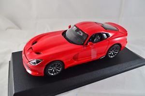 【送料無料】模型車 モデルカー スポーツカー ダッジバイパーdodge viper srt gts 2013 118 metall, maisto art 31128