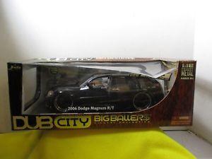 【送料無料】模型車 モデルカー スポーツカー ダブシティマグナムneues angebot118 jada dub city big ballers 2006 dodge magnum rt