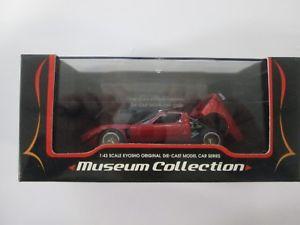 【送料無料】模型車 モデルカー スポーツカー コレクションランボルギーニkyosho museum collection lamborghini jota svr 143 03201r