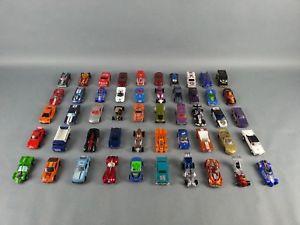 【送料無料】模型車 モデルカー スポーツカー ホットホイールマッチブランドロットlot of 50 used hot wheels, matchbox and other mixed brands