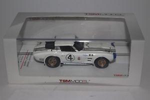 【送料無料】模型車 モデルカー スポーツカー モデルシボレーコルベットグランスポーツクーペ#ボックススケールtsm models 1964 chevrolet corvette grand sport coupe 67 143 scale with box