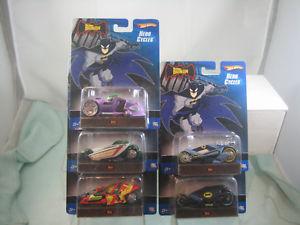 【送料無料】模型車 モデルカー スポーツカー ホットホイールバットマンヒーローサイクルhot 5 wheels batman all hero cycles batman collect all 5, 富士河口湖町:703df73a --- sunward.msk.ru