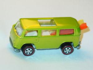 【送料無料】模型車 redline モデルカー スポーツカー color bus ホットホイールビーチカラーバスローダーライムhot wheels redline beach bomb vw bus rear loader dull lime in color, ニシメマチ:090b3cd3 --- sunward.msk.ru