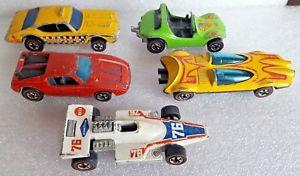 【送料無料】模型車 モデルカー スポーツカー ヴィンテージマテルホットホイールロットvintage mattel hot hot wheels wheels redline mattel lot of 5 played with, 大田区:8b45fbf1 --- sunward.msk.ru