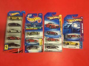 【送料無料】模型車 モデルカー スポーツカー ホットホイールフェラーリスパイダーカリフォルニアhot wheels ferrari lot f40, f50, 458, 430, 612, 599, california, 513, spider