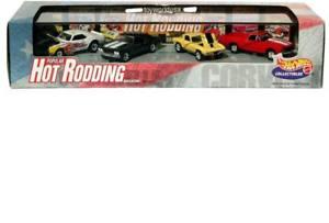 【送料無料】模型車 モデルカー スポーツカー ホットホイールホットコルベットカマロ100 hot wheels popular hot rodding 68 camaro, 69 chevelle, 67 corvette