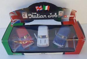 【送料無料】模型車 モデルカー スポーツカー コーギーイタリアミニrare corgi from the original the italian job set of three minis 05506