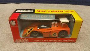 【送料無料】模型車 solido モデルカー スポーツカー ビンテージ#スケールフランスvintage solido france 176 mint mac laren can am 143 scale france mint boxed, アライシ:17c0825f --- sunward.msk.ru