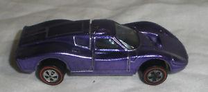 【送料無料】模型車 モデルカー スポーツカー ホットホイールフォードhot wheels redline ford mk iv in purple nice condition