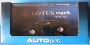 【送料無料】模型車 モデルカー スポーツカー ロータスエスプリタイプダークグリーン#グリーンベルデlotus esprit type 79 s1 dark green autoart 55312 143 verte grun verde