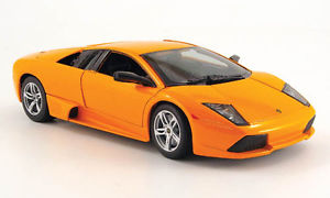 【送料無料】模型車 モデルカー スポーツカー ランボルギーニオレンジスポーツカーlamborghini murcielago lp 640 2007 orange metal maisto 118 118 sport car