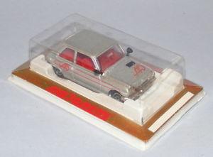 【送料無料】模型車 モデルカー スポーツカー #ルノーアルパインシルバークリアビンテージミントmajorette 257 renault 5 alpine silver clear windows vintage 1980s mint boxed