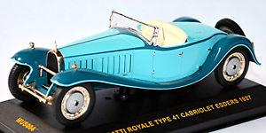 【送料無料】模型車 モデルカー スポーツカー ブガッティロワイヤルカブリオレタイプグリーングリーンネットワークbugatti royale type 41 cabriolet esders 1927 grn green 143 ixo mus004