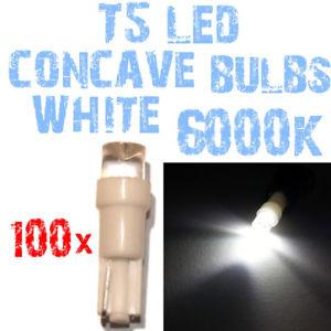 【送料無料】模型車 モデルカー スポーツカー kn 100 lampadine led t5 6000k bianche concavi per fari angel eyes depo fk 2a4asv