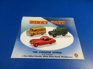 【送料無料】模型車 モデルカー スポーツカー カタログミントdinky toys not 1st september toys a 1954 catalogue, very rare, orig not a repro, 99 mint, DUB公式通販サイトCC-shop:82134a33 --- sunward.msk.ru