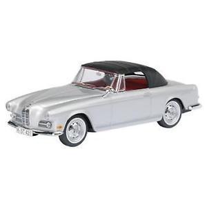【送料無料】模型車 モデルカー スポーツカー カブリオレアルジェントbmw 503 cabrio schuco argento 143
