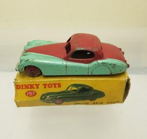 【送料無料】模型車 モデルカー スポーツカー ジャガークーペdinky 157 jaguar coupe
