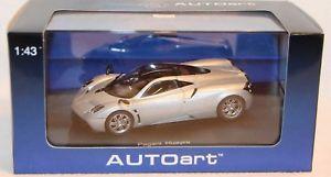 【送料無料】模型車 モデルカー スポーツカー モデルシルバーオリジナルautoart 143 metallmodell 58206 pagani huayra silver neu in ovp k15