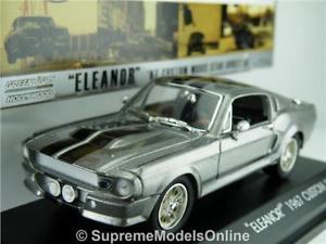 【送料無料】模型車 モデルカー スポーツカー シェルビーマスタングモデル#shelby mustang 1967 eleanor gone in 60 seconds model car greenlight issue k8q~~