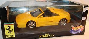 【送料無料】模型車 ovp モデルカー スポーツカー モデルフェラーリボックスhotwheels 118 gelb metallmodell 23921 23921 ferrari f355 gts 1994 gelb neu in ovp, FALCON BIKE:bd22bc21 --- sunward.msk.ru