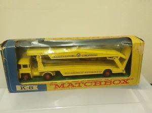 【送料無料】模型車 モデルカー スポーツカー マッチkキングサイズトランスポーターmatchbox k8 farnborough measham kingsize car transporter