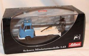 【送料無料】模型車 モデルカー スポーツカー モデルレッカーschuco 143 metallmodell 03245 hanomag kurier abschleppwagen neu